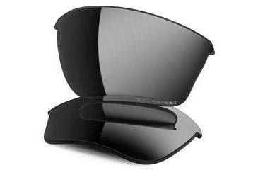 Oakley Half Jacket 2.0 XL Replacement Lenses, Black Iridium 43-510