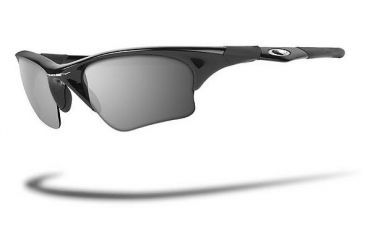 86472b5fb5 Oakley Half Jacket XLJ Jet Black Frame w  Black Iridium Lenses Sunglasses  03-650