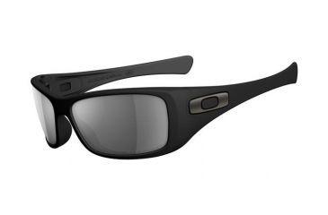 Oakley Hijinx Matte Black Frame w/ Grey Polarized Lenses Men's Sunglasses 12-929