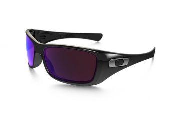 Oakley Hijinx Mens Sunglasses Polished Black Frame, G30 Black Iridium Lens 03-600