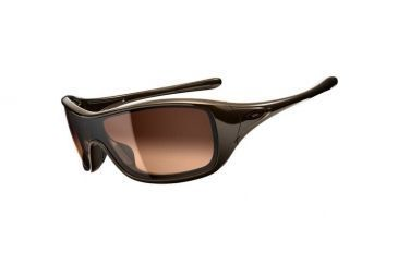Oakley Ideal Sunglasses, Brown Sugar Frame, Dark Brown Gradient Lens OO9151-01