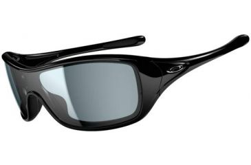 Oakley Ideal Sunglasses, Polished Black Frame, Grey Lens OO9151-03