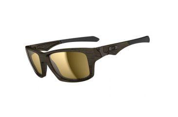 Oakley Jupiter Squared Progressive Prescription Sunglasses - Woodgrain Frame OO9135-07