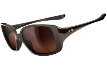 Oakley LBD Sunglasses - Chocolate Sin Frame and Dark Brown Gradient Lens OO9193-02