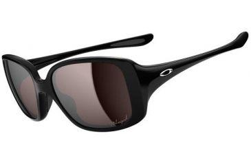Oakley LBD Sunglasses - Polished Black Frame and OO Black Iridium Polarized Lens OO9193-05