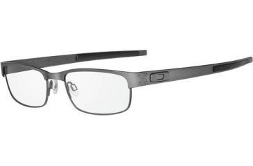 Oakley Metal Plate Eyeglasses, Brushed Chrome OX5038-0655-RX