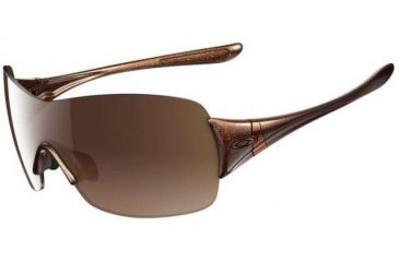 96a9447be1 Oakley Miss Conduct Squared Asian Fit Brown Sugar Frame w  VR50 Brown  Gradient Lenses Sunglasses