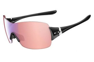 Oakley Miss Conduct Squared Sunglasses, Polished Black Frame, G30 Lens OO9141-12