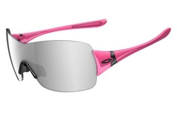 Oakley Miss Conduct Squared Sunglasses, Pink Lava Frame, Black Iridium Lens OO9141-16