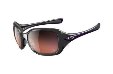 Oakley OIH Necessity Polished Black Frame w/ G40 Black Gradient Lenses Women's Prescription Sunglasses OO9122-08