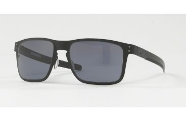 bc07b43f21d Oakley HOLBROOK METAL OO4123 Single Vision Prescription Sunglasses OO4123-412301-55  - Lens Diameter
