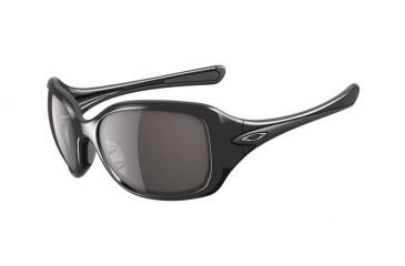 Oakley Necessity Single Vision Prescription Sunglasses - Polished Black Frame OO9122-01