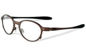 e0e3acc2a8 Oakley Overlord 51mm Brown Single Vision Prescription Eyeglasses OX5067-0351
