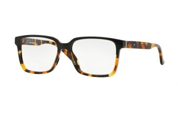 221495662ff Oakley Confession Single Vision Prescription Eyeglasses 112801-52 - Black  Tortoise Frame