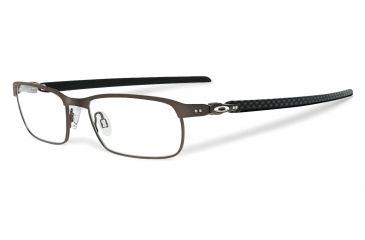 14d8093c195b Oakley Tincup Carbon Single Vision Prescription Eyeglasses, Powder Pewter  Frame, OX5094-0250SV