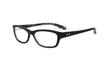 Oakley Paceline Eyeglasses Frame, Size 52 - Black Letterpress OX1067-0152