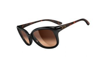 Oakley Pampered Single Vision Prescription Sunglasses - Black Tortoise Frame OO9160-02