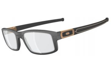 Oakley Panel Eyeglasses, Grey Bronze, 58.7 mm OX3153-0555