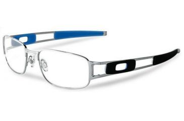 5d4acfb430 Oakley Paperclip 53mm Chrome Single Vision Rx Eyeglasses OX3114-0453