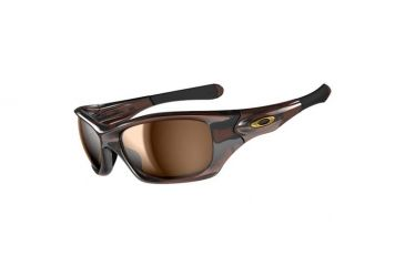Oakley Pit Bull Sunglasses, Polished Rootbeer Frame, Bronze Lens, Polarized OO9127-12