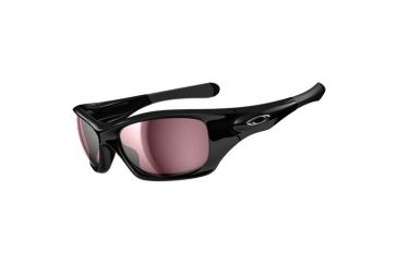 Oakley Pit Bull Sunglasses, Polished Black Frame, VR28 Lens, Polarized OO9127-13