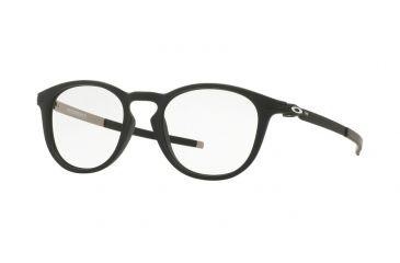 cdc3c3b1191 Oakley PITCHMAN R OX8105 Single Vision Prescription Eyeglasses 810501-50 -  Satin Black Frame