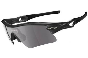 d12b4f50908 Oakley Radar Range Polished Black Frame w  Grey Lenses Sunglasses 09-664