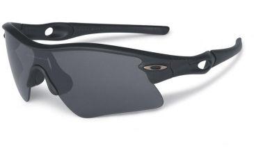 8d9455bc66 ... get oakley si radar range sunglasses matte black frame grey lens 11 471  a1fe0 575f7