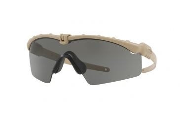 9daa3184fc Oakley SI BALLISTIC M FRAME 3.0 OO9146 Sunglasses 914605-32 - Dark Bone  Frame