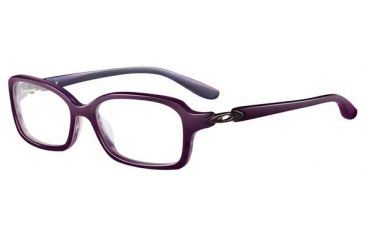 Oakley Crimp Single Vision Rx Eyeglasses, Size 53 - Purple Marble Frame OX1070-0353