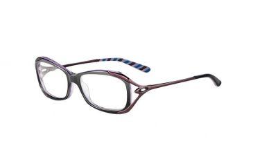 Oakley Exposure Single Vision Rx Eyeglasses, Size 53 - Nightfall Stripes Frame OX1068-0153