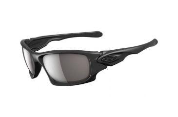 Oakley Ten Matte Black Frame w/ Warm Grey Lenses Men's Sunglasses OO9128-01