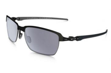 e36586868b Oakley Tinfoil Carbon Sunglasses Carbon Matte Black Silver Frame