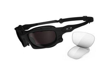 2eb62e159b Oakley Wind Jacket Matte Black Frame W Warmgrey Lenses Men S Prescription  Sunglasses Oo9142 01