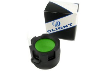 Olight Green Filter for T-series (T10 T15 T20 T25) and Infinitum LED Flashlights, Green OLIGHT-FILTER-GREEN