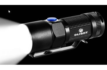 Olight S10 Neutral Cree XM-L2 Neutral White LED Flashlight, 360 Lumens, Black, Uses 1 x CR123 OLIGHT-S10-XML2-NEUTRAL