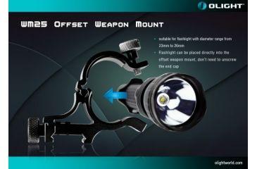 5-Olight WM25 Weapon Mount