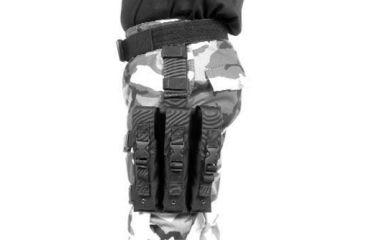 BlackHawk OMEGA SMG POUCH (HOLDS 3) BLACK 56SMG3BK