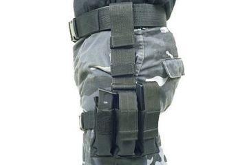 BlackHawk Omega Triple Pistol Mag/TalonFlex Pouch-Blk 56PMK3BK
