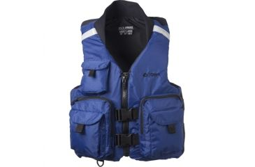 ONYX Pro Caster Vest,XXL Size for Adult, Nylon Outershell, Collar, Navy 86660034