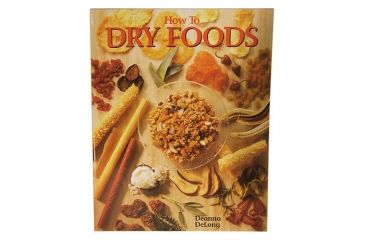 Open Country How to Dry Foods, Cookbook 72579