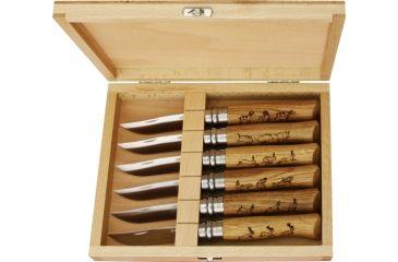 Opinel Wildlife Folder Knife Set, 4 3/8in. Closed OP01637