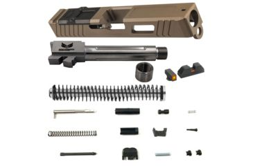 OpticsPlanet Exclusive Glock 19 Gen 4 FDE Build Kit