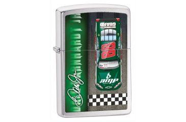 Zippo Dale Earnhardt Jr Classic Style Lighter, Brushed Chrome 28333