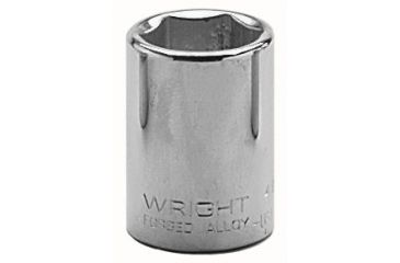 Wright Tool 1-1/2in 1/2indr. Standardsocke 875-4048, Unit EA