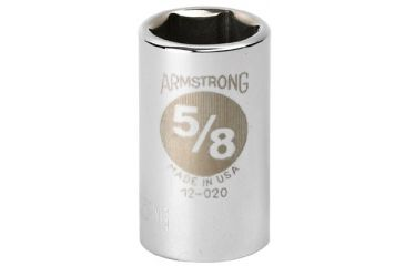 Armstrong Tools 1/2in Dr Power Skt 3/8in12-pt 069-20-112, Unit EA