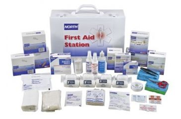 Honeywell Safety 100 Person First Aid Kitfilled 5011103301, Unit PK