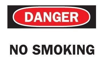 Brady Fire Extinguisher Sign (sticke 262-86091, Unit EA