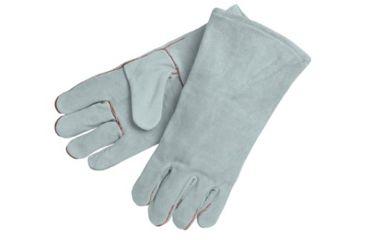 Memphis Glove 13in 1pc.back Grey Welders Glo 127-4150B, Unit PK
