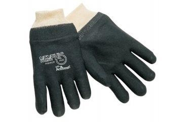 Memphis Glove 10in Black Pvc Non-slipw/jerse 127-6200SJ, Unit PK